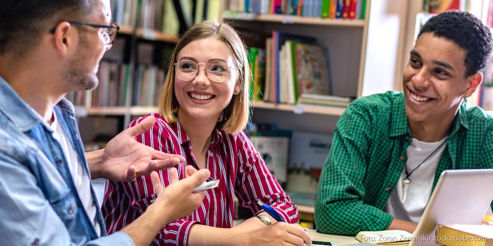 Foto von einer Diskussion