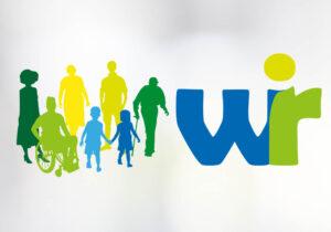 Logo von der Aktion wir